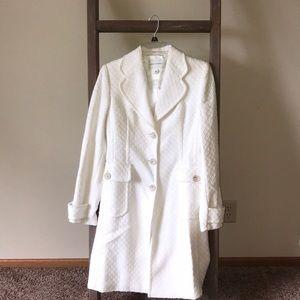 White spring coat